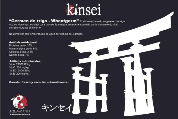alimento para koi kinsei wheatgerm analisis